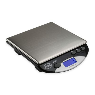 American Weigh Scales Digital Kitchen/Postal Scale in Black