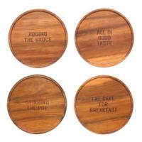 kate spade new york All In Good Taste Coasters (Set of 4)