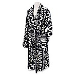 Loyal Companion Bathrobe in Black/Natural