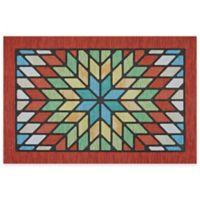 Mohawk Home Vintage Star 20-Inch x 30-Inch Door Mat