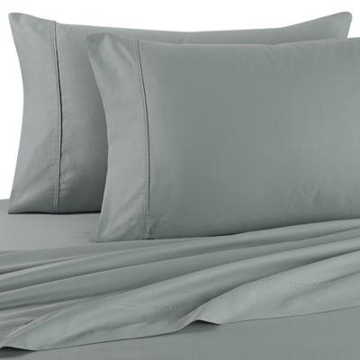Brookstone® BioSense® 500 Thread Count Queen Sheet Set In Teal