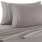 Brookstone® BioSense™ 500-Thread-Count Standard Pillowcases in Grey(Set of 2)