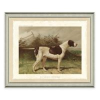 Dog Scene III Framed Art Print