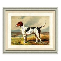 Dog Scene IV Framed Art Print