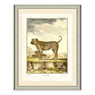 Dog Scene II Framed Wall Art Print
