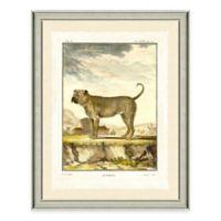 Dog Scene II Framed Wall Art Print