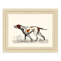 Hunting Dog I Framed Art Print