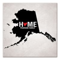 Pied Piper Creative Alaska State Pride Canvas Wall Art