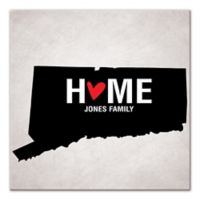 Pied Piper Creative Connecticut State Pride Canvas Wall Art