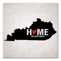 Pied Piper Creative Kentucky State Pride Canvas Wall Art