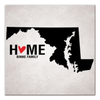 Pied Piper Creative Maryland State Pride Canvas Wall Art