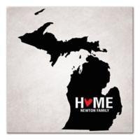 Pied Piper Creative Michigan State Pride Canvas Wall Art