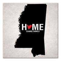 Pied Piper Creative Mississippi State Pride Canvas Wall Art