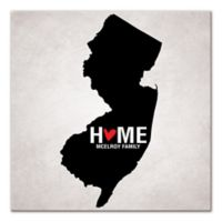 Pied Piper Creative New Jersey State Pride Canvas Wall Art