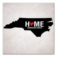 Pied Piper Creative North Carolina State Pride Canvas Wall Art