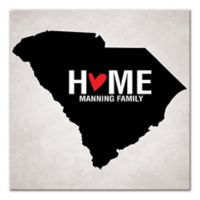 Pied Piper Creative South Carolina State Pride Canvas Wall Art