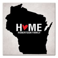 Pied Piper Creative Wisconsin State Pride Canvas Wall Art