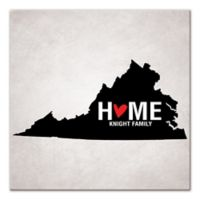 Pied Piper Creative Virginia State Pride Canvas Wall Art