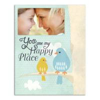 Baby and Momma Bird Canvas Wall Art