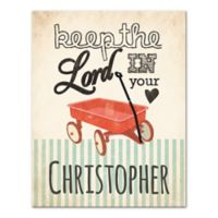 """""""Keep the Lord in Your Heart"""" Canvas Wall Art"""