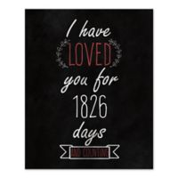 Loved You Since Day One Canvas Wall Art