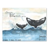 """Dream Big Little One"" Canvas Wall Art"