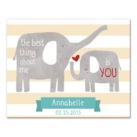 You're The Best Thing About Me Canvas Wall Art