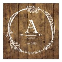 Monogram Mania Canvas Wall Art