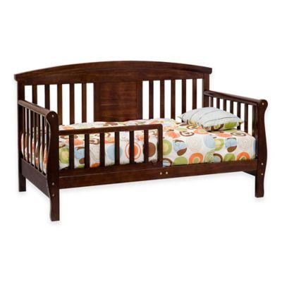 Furniture U003e DaVinci Elizabeth II Convertible Toddler Bed In Espresso