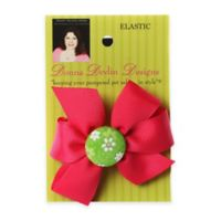 Donna Devlin Designs® Daisy Do Elastic Pet Bow in Red