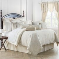 Waterford® Linens Paloma Reversible King Comforter Set in Ivory