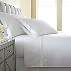 Austin Horn En'Vogue Charlotte Embroidered Queen Sheet Set in White