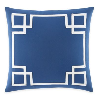 Nautica® Bell Point Square Throw Pillow in Blue