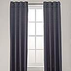 Odyssey 84-Inch Grommet Top Room Darkening Window Curtain Panel in Slate