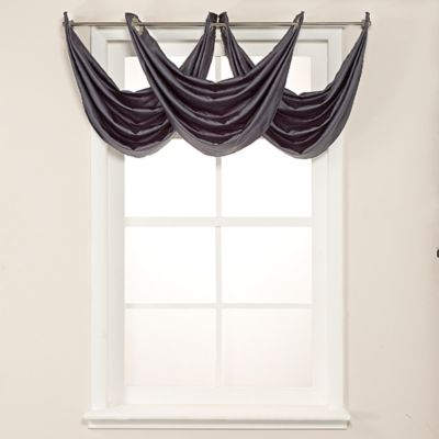 buy window curtains with matching valances from bed bath & beyond