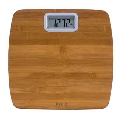 HoMedics® Bamboo Digital Bathroom Scale