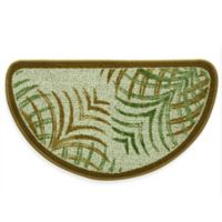 Bacova Mirage 18-Inch x 31.5-Inch Berber Kitchen Rug in Green/Brown