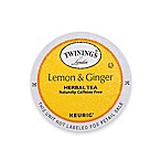 Keurig® K-Cup® Pack 18-Count Twinings of London® Lemon & Ginger Herbal Tea
