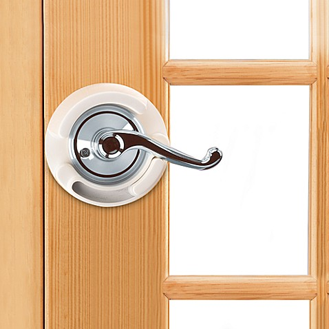 French Door Lever Handle Lock By Safety 1st 174 Bed Bath