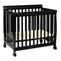 Davinci Kalani 2 In1 Convertible Mini Crib In Ebony