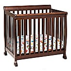 DaVinci Kalani 2-in1 Convertible Mini Crib in Espresso