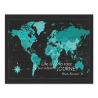 """""""Life is Not a Race"""" Canvas Wall Art"""