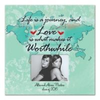 Life is s Journey Worthwhile Canvas Wall Art