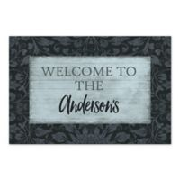 Tapestry Family Welcome Sign Canvas Wall Art