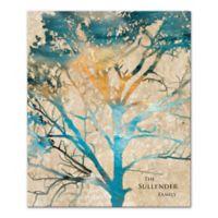 Watercolor Family Tree Canvas Wall Art