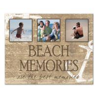 """Pied Piper Creative """"Beach Memories"""" Canvas Wall Art"""