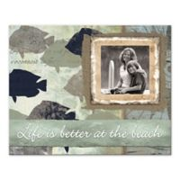 """Pied Piper Creative """"Life is Better at the Beach"""" Canvas Wall Art"""