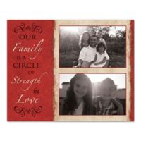 """Family Is a Circle of Strength & Love"" Canvas Wall Art"