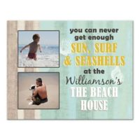 Never Get Enough Beach House Canvas Wall Art