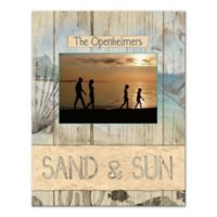 """Sand & Sun"" Shells Canvas Wall Art"